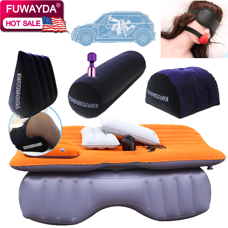 Inflatable Seat Sofa: Free Shipping!!! Offroad Travel Inflatable Car Bed