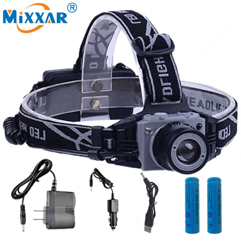 S 4000Lm Body Motion Sensor Inductive LED Headlight Headlamp Rechargeable Outdoor Camping Flashlight Head Torch Lamp Light