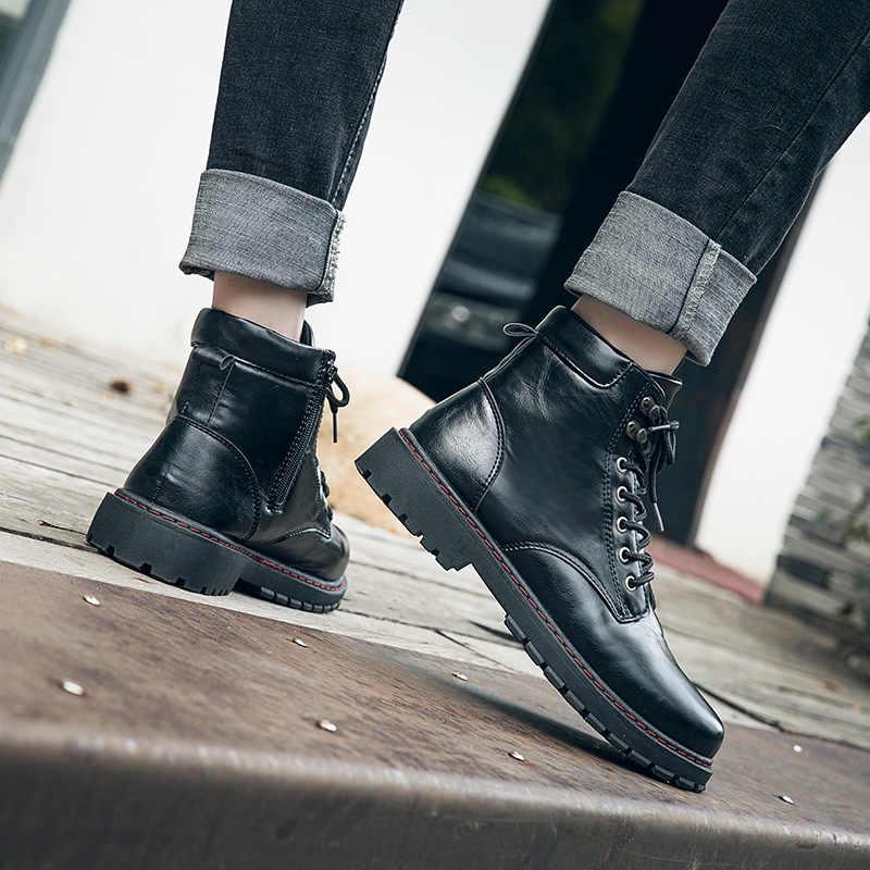 Erkek ayakkabıları botları yardım İngiltere ve Avrupa botları erkek botları H-NFY-CS88