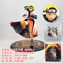 Blood anime naruto model Cape version of naruto 18CM Fairy naruto Action figure Furnishing articles Act the role ofing is tasted