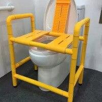 Душ Туалет двойного назначения душ стул безбарьерной Ванна стул нейлон Нескользящие пожилых специальное кресло