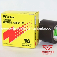 T0 08mm W38mm L10m Good Price Heat Resistance PTFE FILM NITTO DENKO 903UL Adhesive Tapes