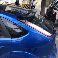 For Ford Focus Spoiler High Quality ABS Material Car Rear Wing Primer Color Rear Spoiler For Ford Focus Spoiler 2007 2011