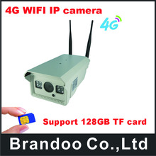 4G 1080P Outdoor Infrared 128G TF Card Video Record IR 20M MINI CCTV Security Surveillance Camera