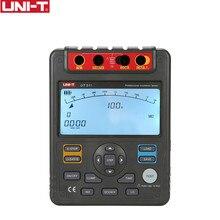 UNI T medidores digitales de resistencia de aislamiento UT511, 1000V, 10Gohm, voltímetro, automático