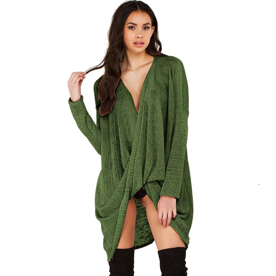 Plus Size Green Sweater
