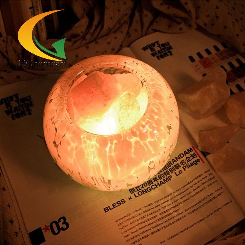 authentic voice salt crystal bedroom lamp bedside anion health birthday  gift table lamp desktop lamp. Bedroom Voice