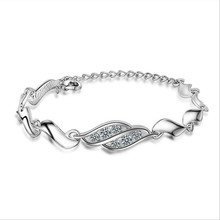 Everoyal Vintage Lady 925 Sterling Silver Bracelet Women Accessories Fashion Crystal Female Princess Jewelry Hot