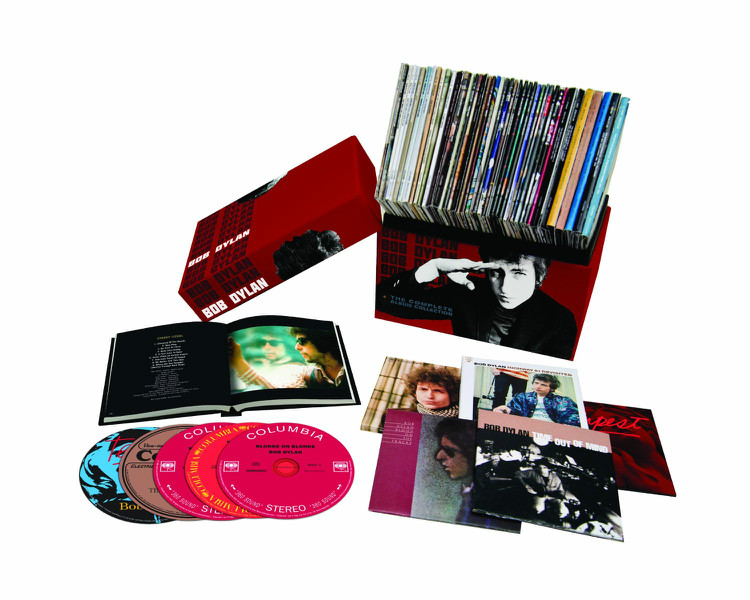 High Quality Bob Dylan CD The Complete Album Collection VOL One 47 CDs Colossal Music Boxset dropping Shipping the classic 90s collection cd