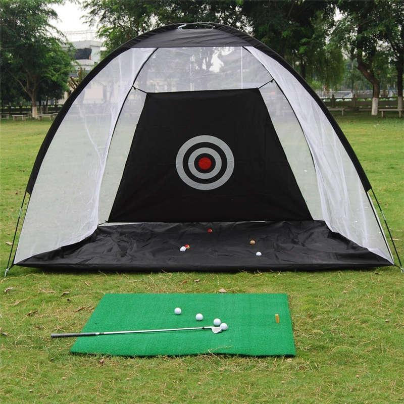 Portable Golf Practice Net Foldable Golf Training Aids