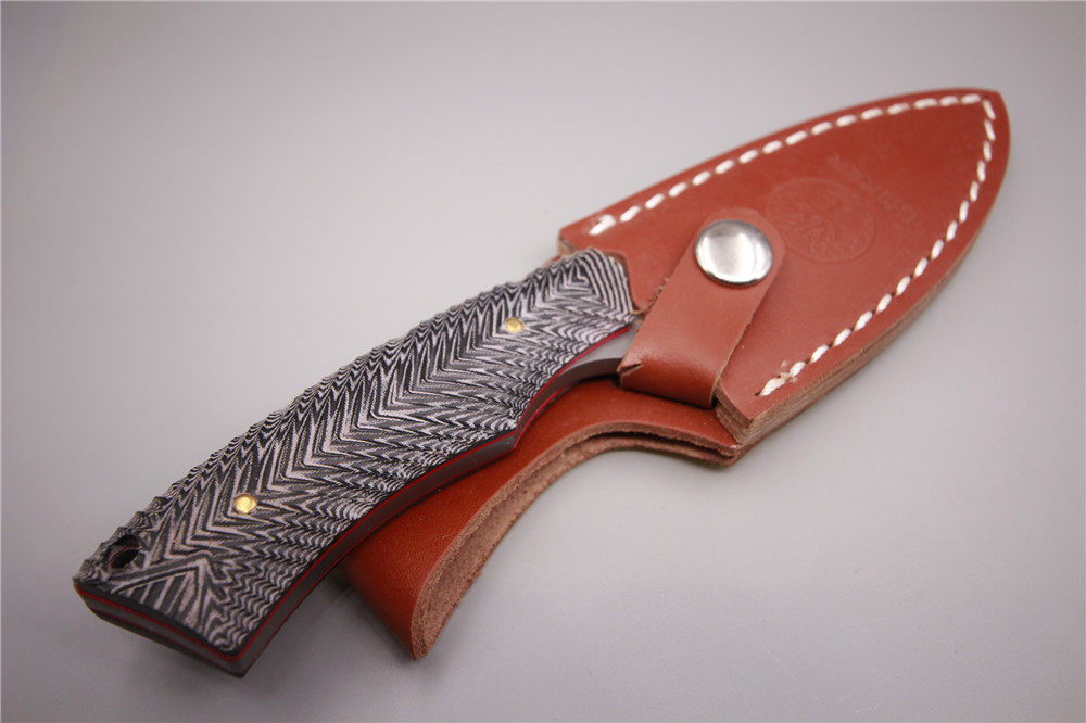 Aliexpress.com : Buy Stainless steel straight knife corrosion outdoor survival tools small folding knife holster multifunctional hunting knife woodwo from ...