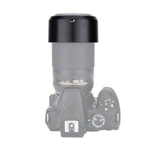 Image 4 - Foleto HB 77 HB77 Lens Hood Kamera Lens yuvarlak Lens Gölge Hood nikon AF P DX NIKKOR f/4.5 6.3 G 70 300mm ED/VR