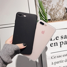 Ultra Thin Matte phone Cases For iphone XS Max Case X XR XS Transparent soft TPU case for iphone 6 6S 7 8 plus Protective shell стоимость