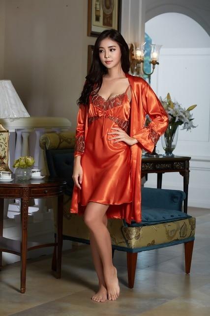 Новые шелковые пижамы женщин летом кружева с коротким рукавом шелк пижамы костюмы пары обслуживание на дому в весной и осенью большой ярдов