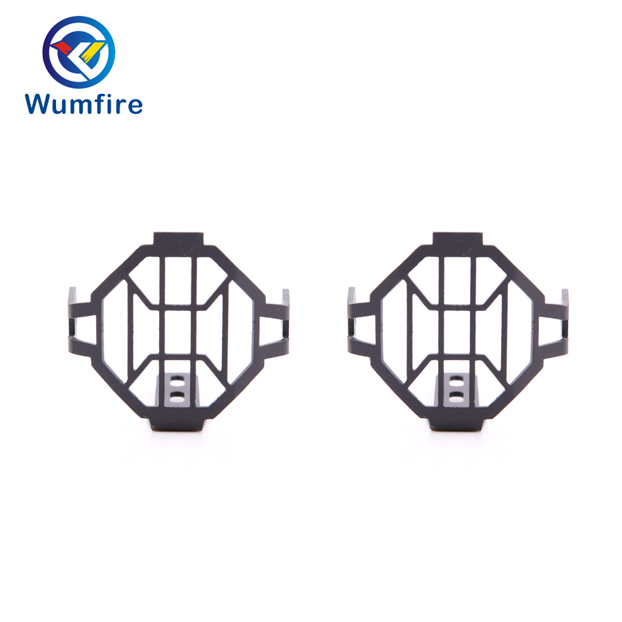 WUMFIRE Motobike Fog Light Protector Guards Cover for BMW
