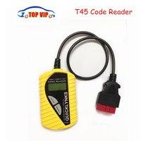 10pcs Lot DHL Free Automotive Diagnostic Tool T45 CAN OBD2 EOBD VAG Code Reader T45 Multilingual