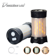 USB Rechargeable Camping Light Carp Bivvy Fishing Camping Lantern Mini 3W DC5V Hanging Hook Tent Light AAA*3/18650*1 camping LED