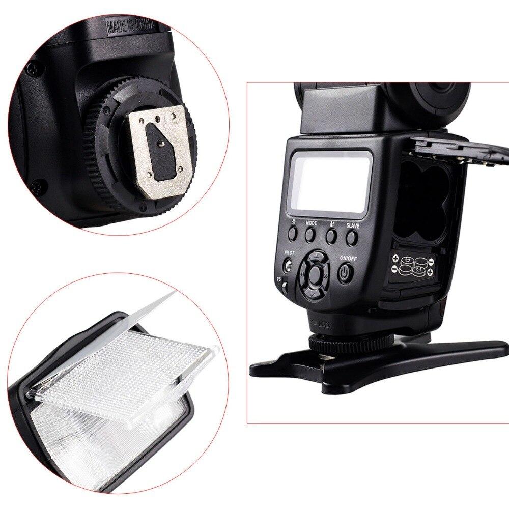 VILTROX JY-680A Universel Caméra LCD Flash Speedlite pour Canon 1300D 1200D 760D 750D 80D 5D IV 7D Nikon 7200D 5500D 5D 610D 750D - 5