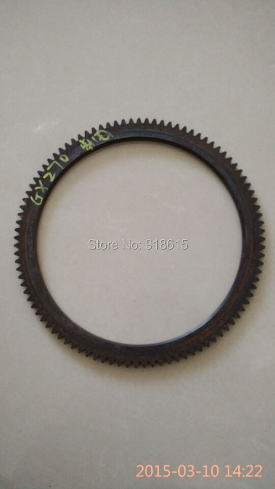 цена GX270 flywheel ring gear gasoline engine parts