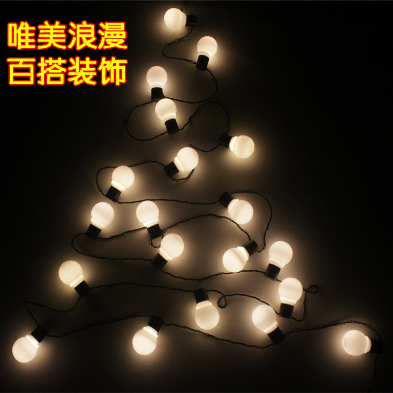 LED string lights Christmas Wedding photography Mantianxing decoration ball lit waterpro ...
