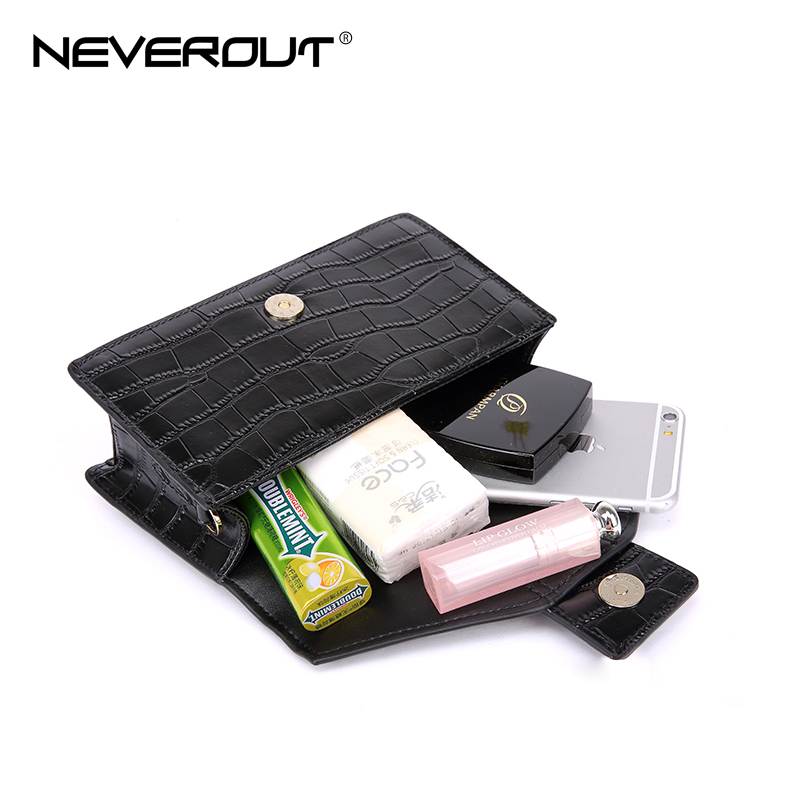 NEVEROUT Luxury Style Name Bag Women Shoulder Sac Split Leather Solid - Bolsos - foto 5