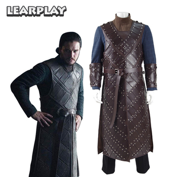 Game Of Thrones Saison 6 Jon Schnee Stark Rüstung Cosplay Kostüme
