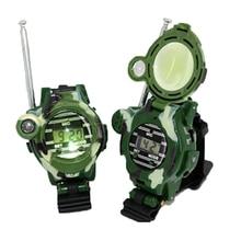 1Pair Toy Walkie Talkies Watches Walkie Talkie 7 in 1 Children Watch Radio Outdoor Interphone Toy For Chirlden Children's Toys