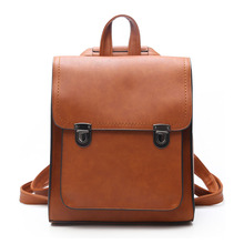 Herald Fashion High Quality Leather Women Backpack With Hair Ball Solid School Bags For Teenager Girls Casual Daily Bag