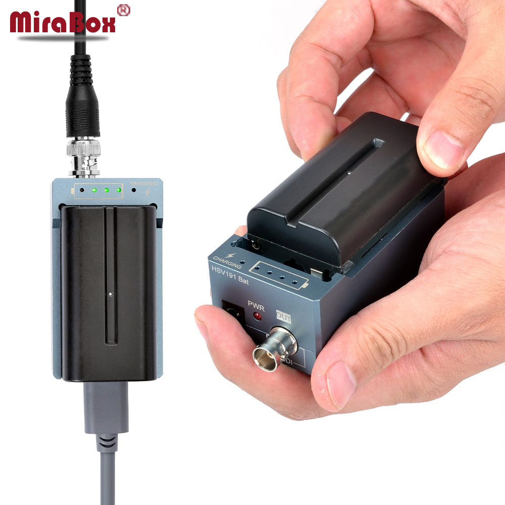MiraBox SDI To HDMI Battery Converter SDI to HDMI Adapter Convert SD/HD-SDI/3G-SDI BNC to HDMI Adapter HD Video Converter Mini 10 pcs high quality mini convereter sdi to hdmi converter hd 3g sd sdi to hdmi adapter support 1080p for hd monitor 2 sdi ports