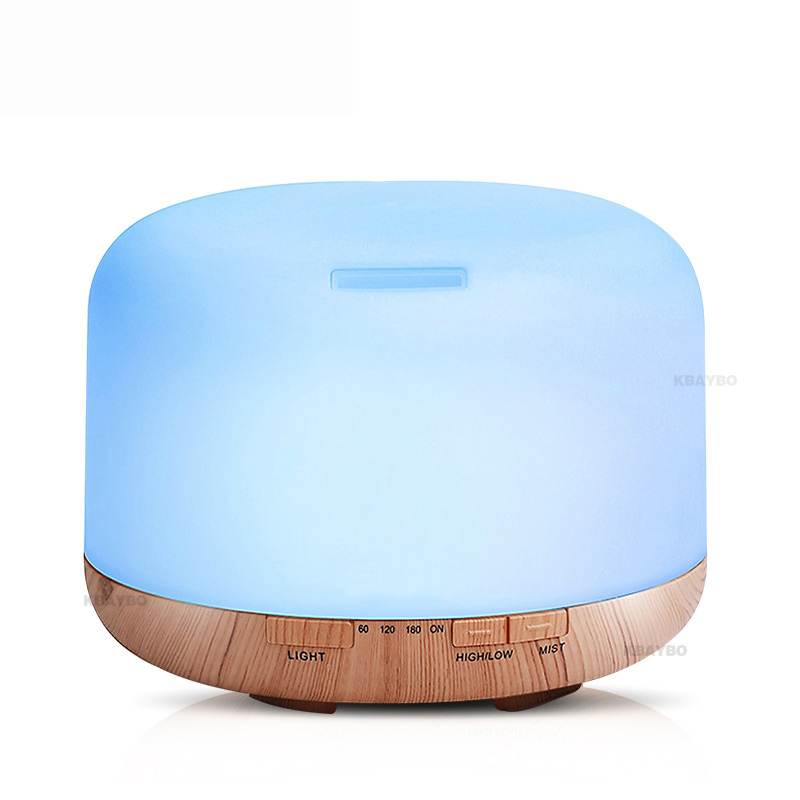 500ml Air Humidifier Essential Oil Diffuser Aroma Lamp Aromatherapy Electric Aroma Diffuser Mist Maker for Home-Wood500ml Air Humidifier Essential Oil Diffuser Aroma Lamp Aromatherapy Electric Aroma Diffuser Mist Maker for Home-Wood