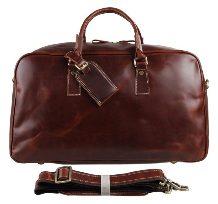 Aliexpress.com : Buy Women's genuine leather travel bag glossy ...