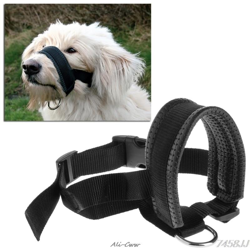 Pet Dog Padded Head Collar Gentle Halter Leash Leader Stop Pulling Training Tool DropShip