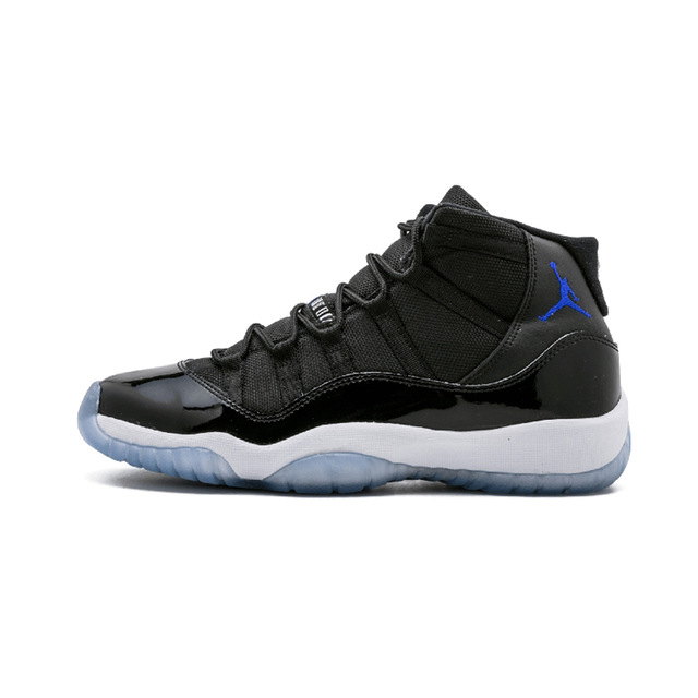 e7349dd78222 Details about Air Jordan Retro 11 Space jam Man Gamma Blue Sport Sneakers