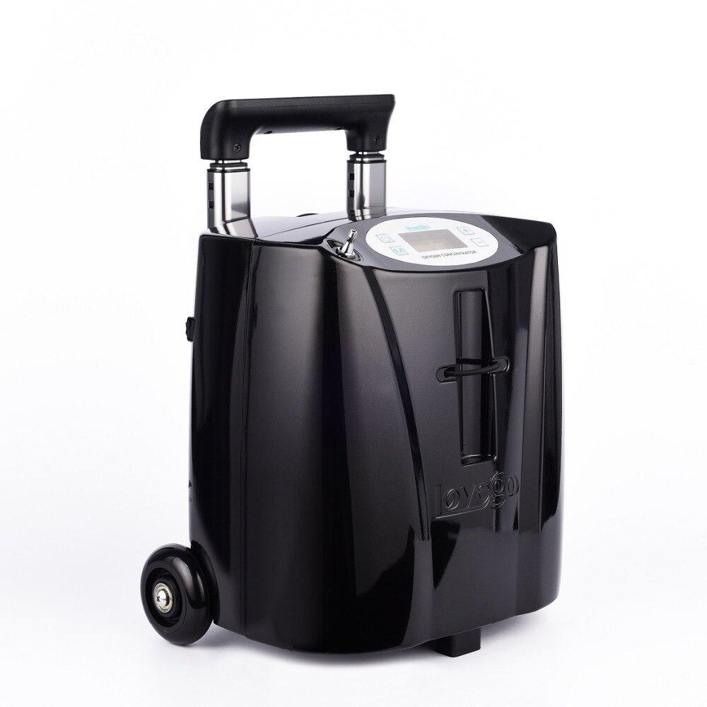 Mini Größe Tragbare Sauerstoff Konzentrator 5 stunden batterie lebensdauer