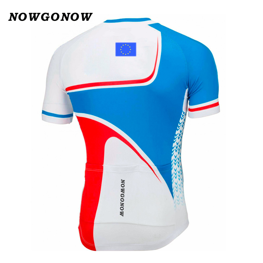 5c559f048 2017 cycling jersey clothing bike wear European Union EU team hot road  maillot ciclismo 4 style Breathable summer NOWGONOW brand-in Cycling Jerseys  from ...