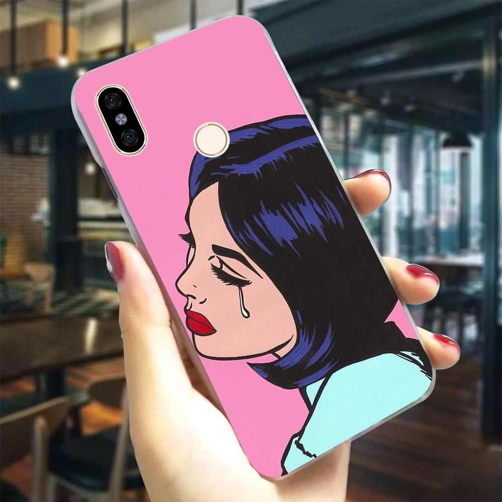 Afro Puffs negro chica teléfono caso para Redmi 6 Pro cubierta S2 4X 4A 5 5 5 6 6 7 5 Plus/5A 6A ir Nota 4 4X3/5/6/7 duro caso