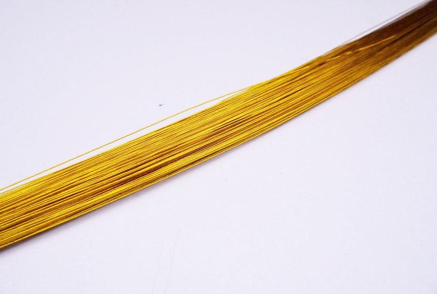 Online Shop 20gauge gold florist wire christmas wire 15pcs ronde ...