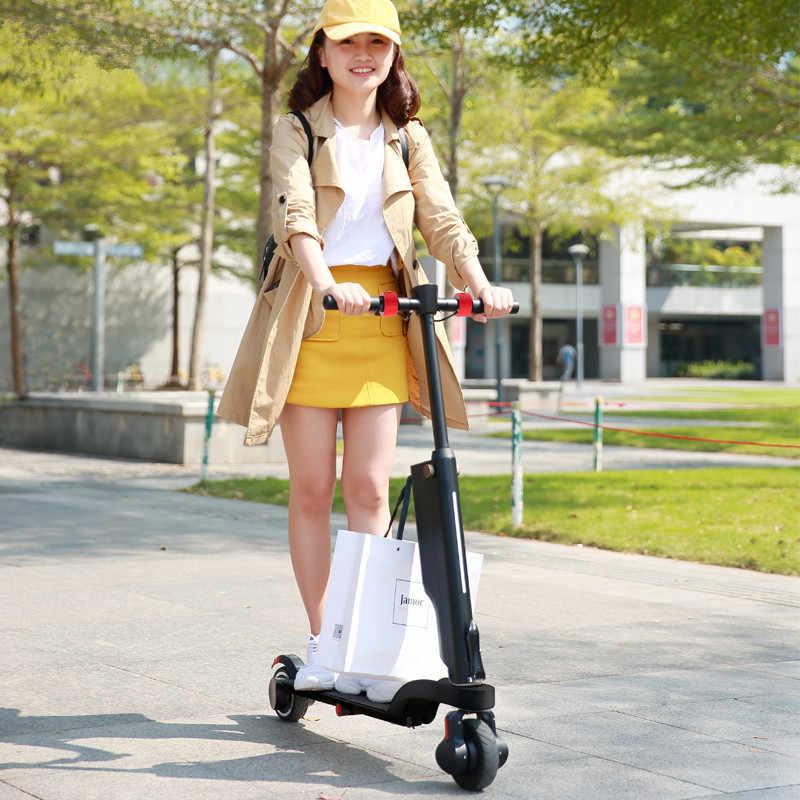 HX X6 складной электрический скутер двух колесных электрических скутеров мини портативный рюкзак Электрический велосипед электровелосипед