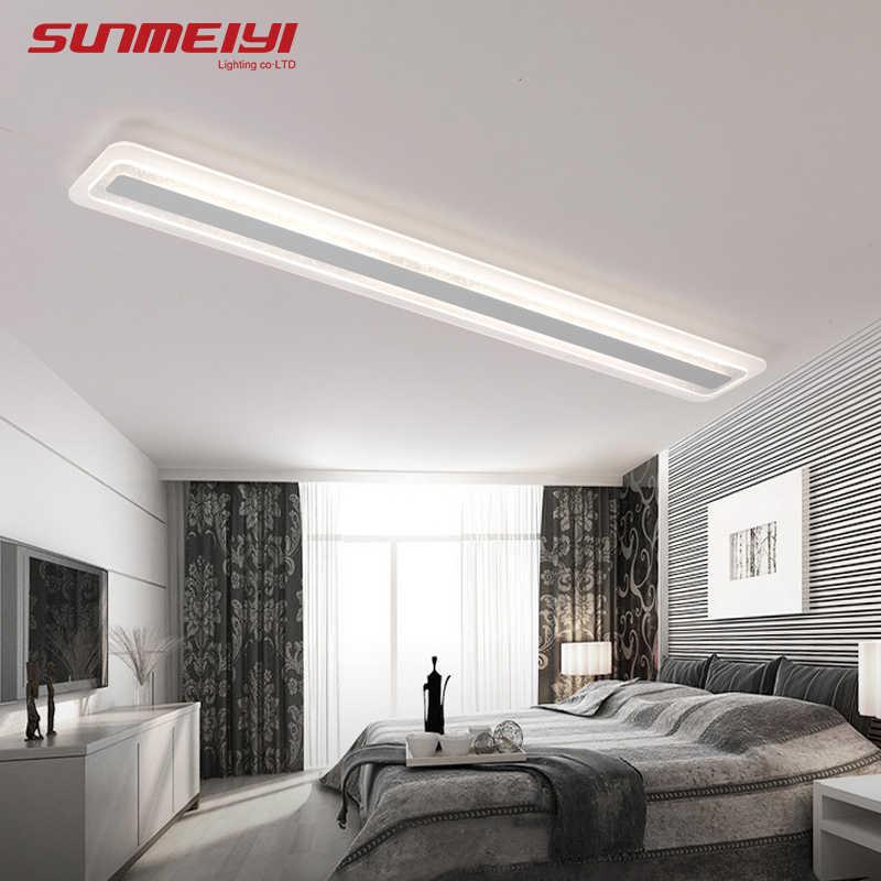 Double Aluminum Line <b>Led Ceiling</b> Light AC85~265V Indoor ...