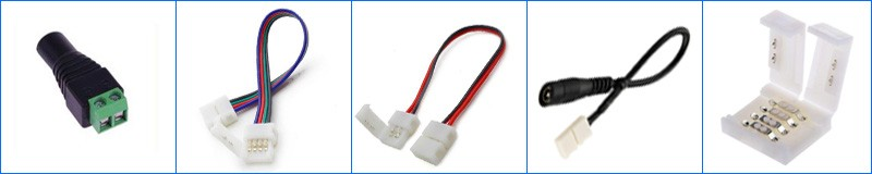 3528 5050 RGB led strip Cold white Warm white blue red green yellow with remote control and power adapter (7)