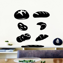 Hot Sale hamburger Wall Stickers Personalized Creative vinyl Decals