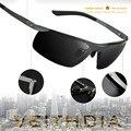 Los Hombres de lujo Marca Veithdia Polarizado UV400 gafas de Sol De Conducción Al Aire Libre Coche Deportivo de Pesca Masculinos Famosos Originales Gafas de Sol