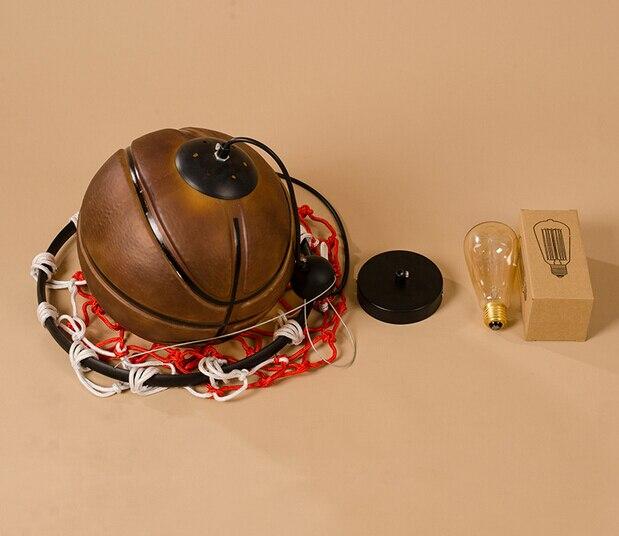 Créatif acrylique basket Vintage Loft pendentif lumières personnalité suspendus luminaires pour la maison éclairages lampara Colgantes - 4
