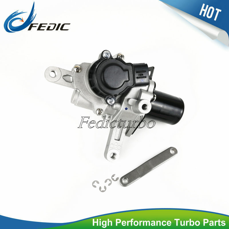 Turbocharger electronic actuator VB31 17201 0L070 17201 0L071 Turbo wastegate for Toyota Hilux 2 5 D