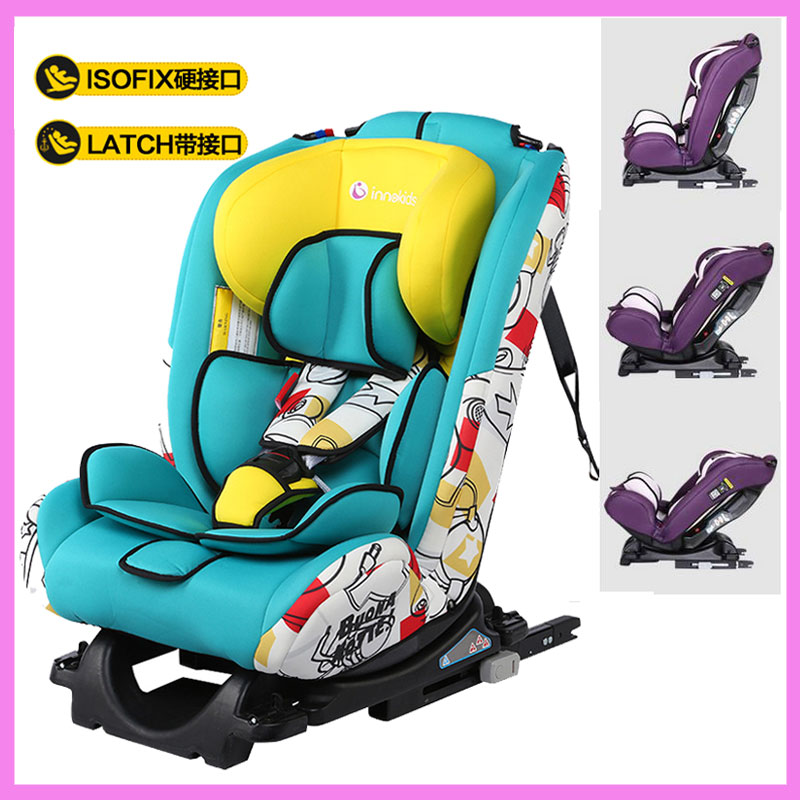 Innokids Baby Child Car Safety Chair Isofix Interface Harness Adjustable Baby Safety Seat Car Booster Chair Brand 0 - 12 Y new professional safety rock tree climbing rappelling harness seat sitting bust belt safety harness
