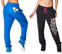 Woman Dance Pants Swag In The City Sweatpants Women Trainning Exercise Pants Bottoms Black BLUE