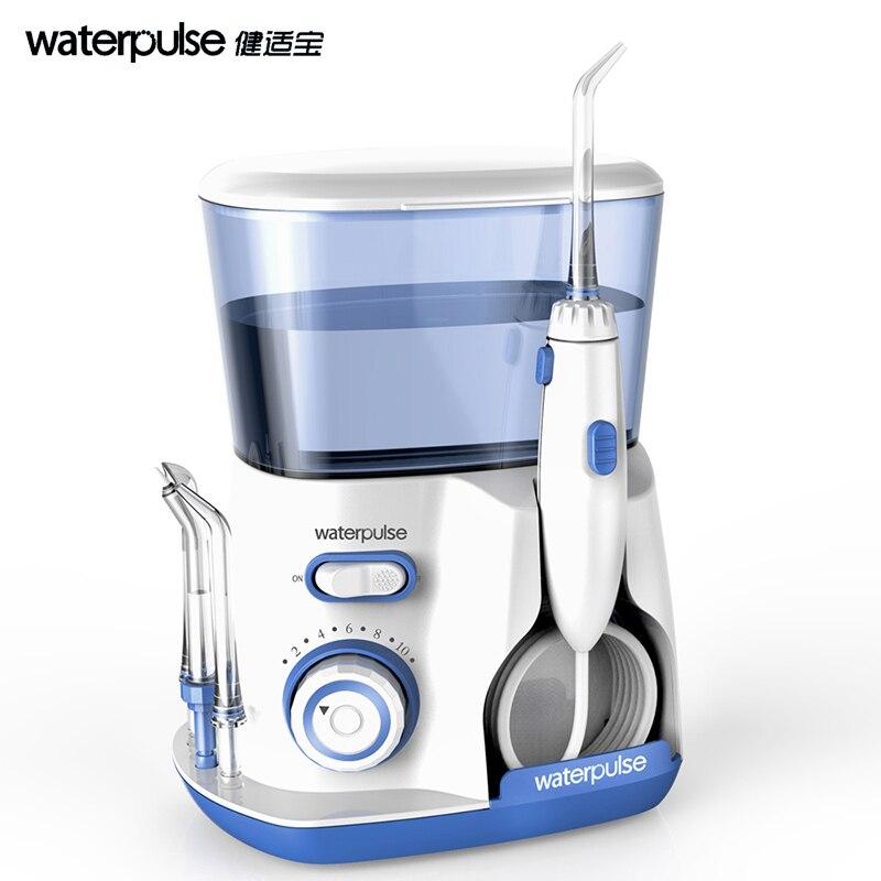 Teeth Washing Oral Irrigator Dental Spa Dental Water Flosser with 5 Tip 800ml Water Tank for