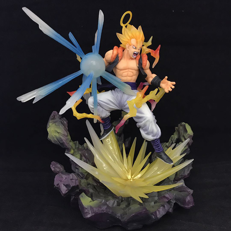 New Dragon Ball Z Gogeta Action Figure 1/8 scale painted figure Fighting Ver. Super Saiyan Gifts no retail box (Chinese Version) 4