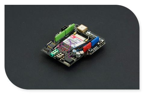 DFRobot GPS/GPRS/GSM Escudo/Módulo V3.0, 6 ~ 12 V Sim908 chip Quad-band GSM/GPRS motor + navegação GPS Compatível com Arduino