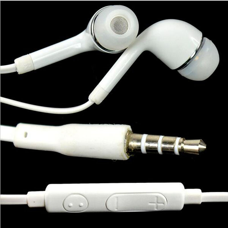 Stereo 3.5mm Jack Headset Earphone For Samsung Galaxy S7 S6 S5 S4 S3 Mini Note 5 4 3 2 Tablets Handfree Headphone Earbuds